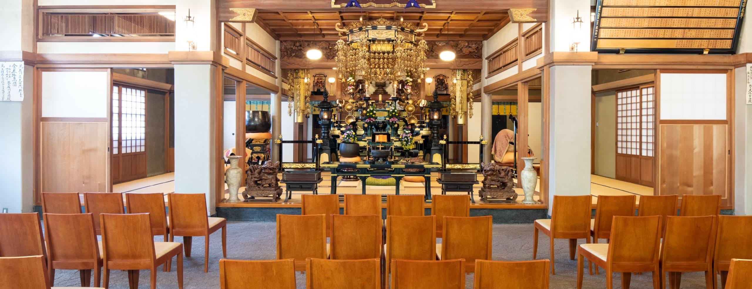 曹洞宗寺院の大林寺